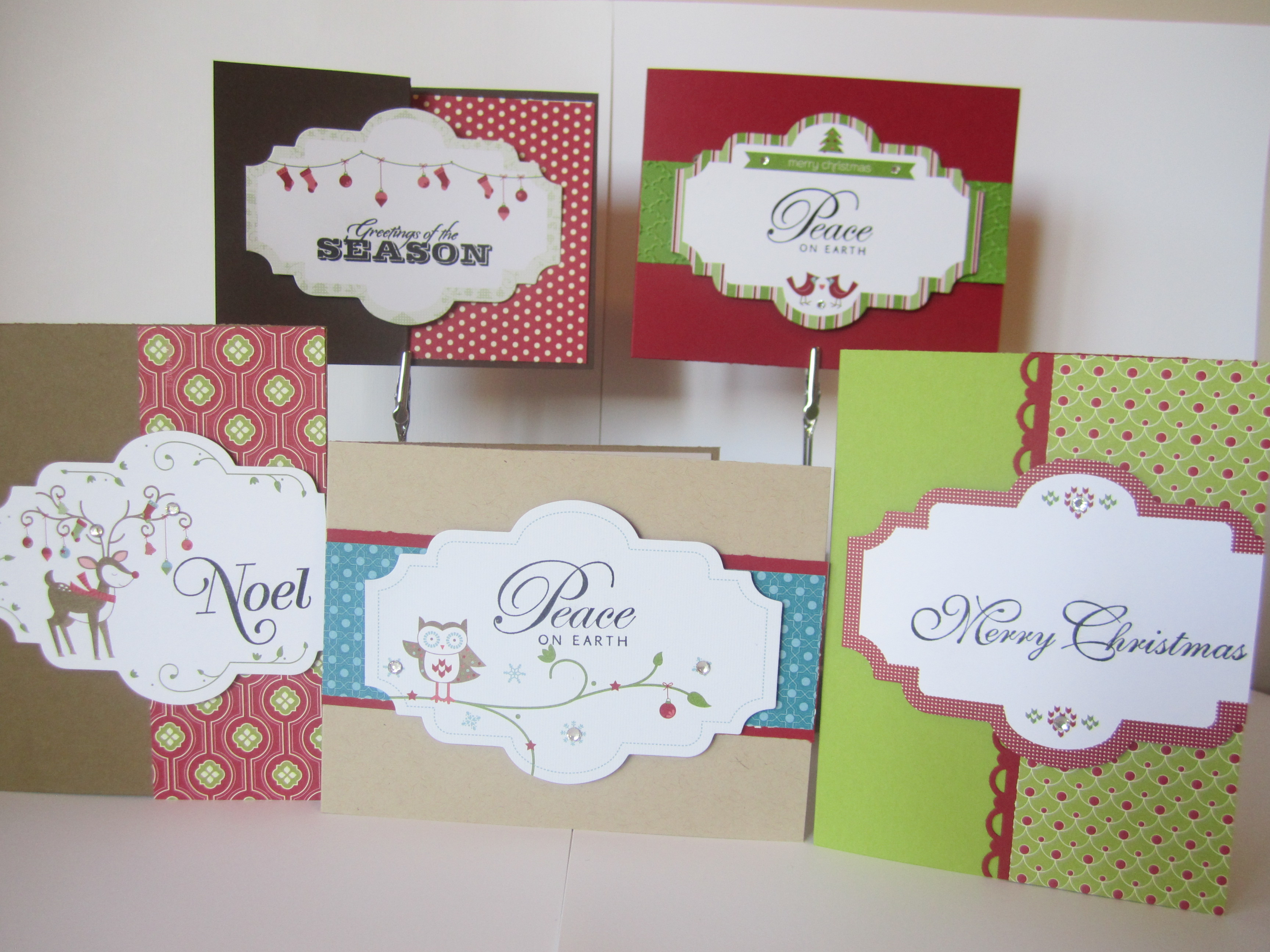 Stamping With Rose Introducing Christmas Card Kits